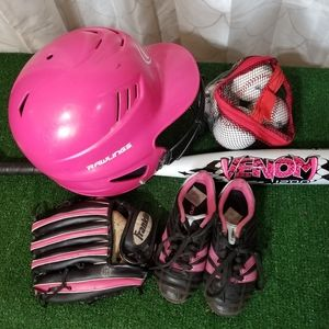 Girl's T-Ball Bundle